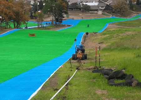 Formaneck irrigation installation services have been provided to some of the largest and most innovative irrigation projects in the Twin Cities area, including the Buck Hill ski area.