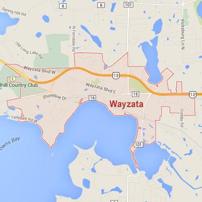 Formaneck Irrigation sprinkler irrigation system installation, maintenance and repair service area map near Wayzata, MN.